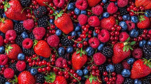 EcoCulture fomenta el consumo de frutos rojos al ser estos una gran fuente de antioxidantes y vitamina C
